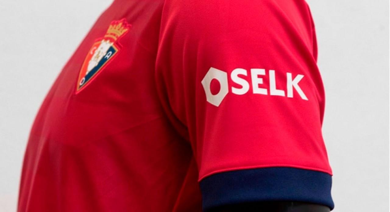 El Club Atlético Osasuna lucirá a Selk en la manga izquierda de la camiseta