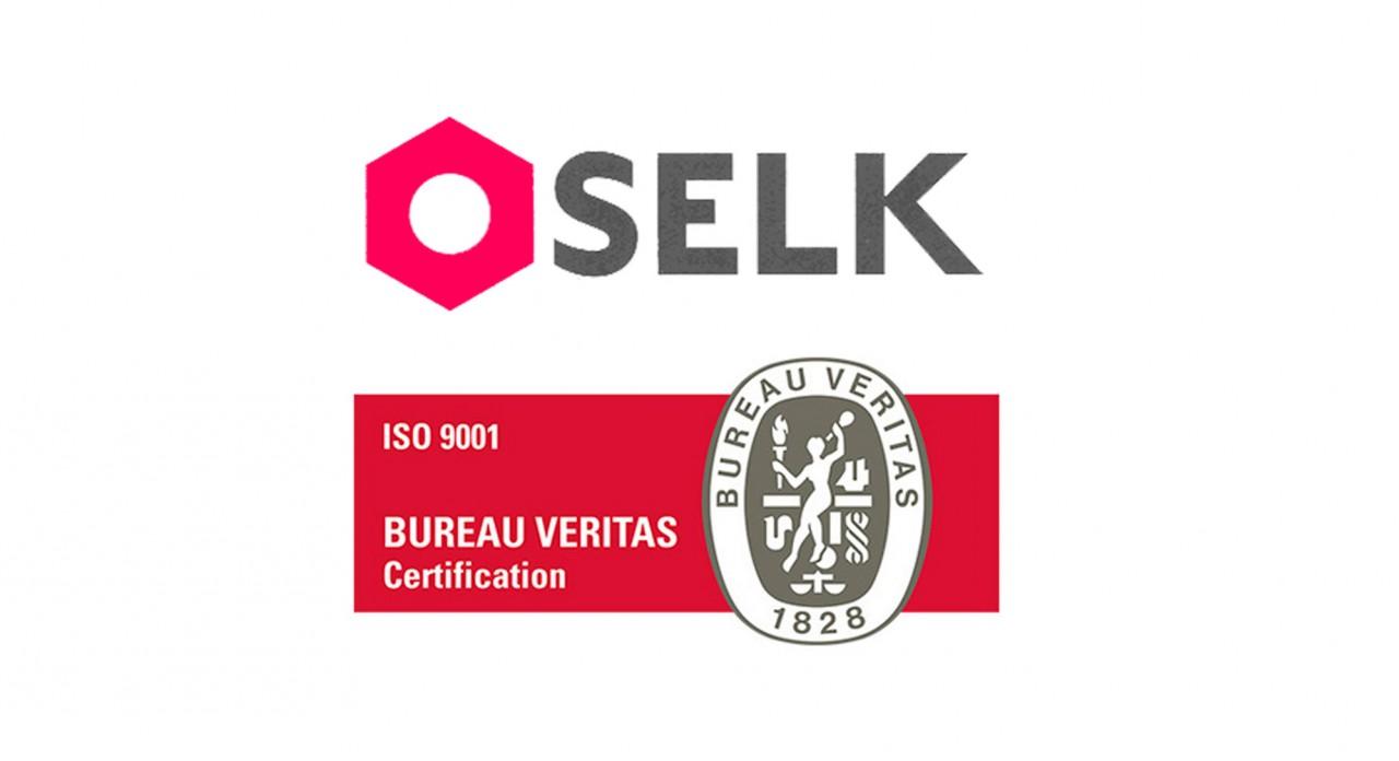 Selk ha obtenido el certificado de calidad ISO 9001